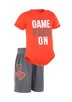 Under Armour® 2-Piece 'Game Face' Bodysuit and Short Set
