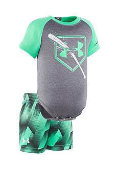 Under Armour 2-Piece Breaking Bat Shirt and Short Set
