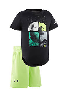 Under Armour® 2-Piece Quarterly Bodysuit and Shorts Set