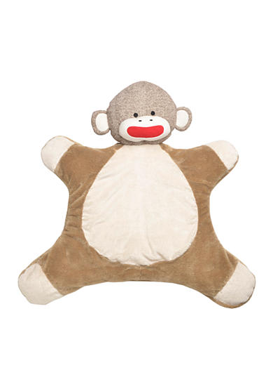 Rashti & Rashti® Sock Monkey Plush Mat