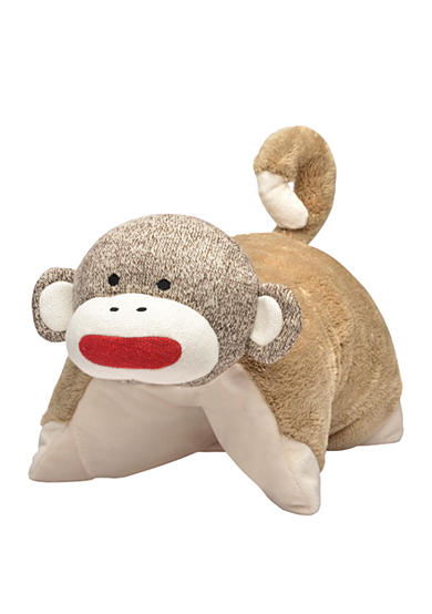 Rashti & Rashti® Sock Monkey Pillow Buddy