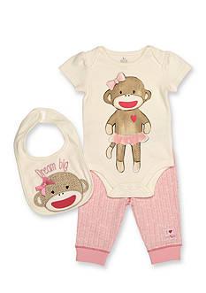 Rashti & Rashti® 3-Piece Sock Monkey Iconic Collection Set