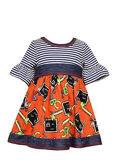 Bonnie Jean Back To School Knit Dress Infant/Baby Girls