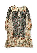 Bonnie Jean Mixed Floral Boho Float Dress Toddler