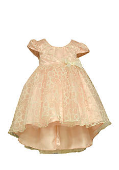 Bonnie Jean Tulle Flower Embroidered Dress Toddler Girls