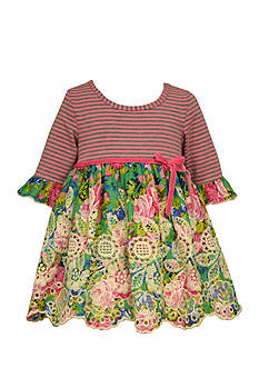 Bonnie Jean Floral Knit Dress