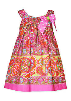 Bonnie Jean® Paisley Print Shift Dress Toddler Girls