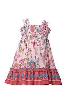 Bonnie Jean Butterfly Smock Dress Toddler Girls