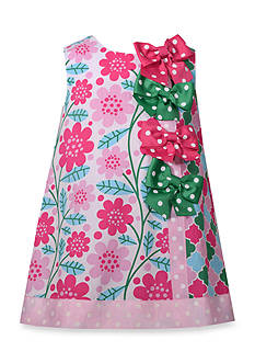 Bonnie Jean Floral Print Shift Dress Toddler Girls