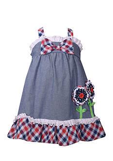 Bonnie Jean Chambray Dress Toddler Girls