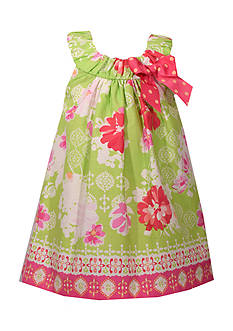 Bonnie Jean Floral Ruched Dress Toddler Girls
