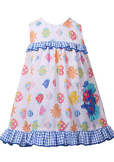 Bonnie Jean Sea Creature Dress Toddler Girls