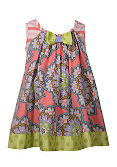 Bonnie Jean Multi Print Knit Sundress Toddler Girls