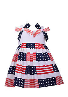 Bonnie Jean Stars and Stripes Dress