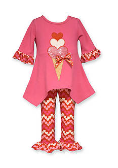 Bonnie Jean® 2-Piece Ice Cream Tunic and Legging Set