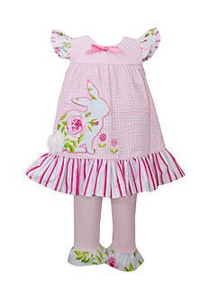 Bonnie Jean Floral Bunny Pants Set