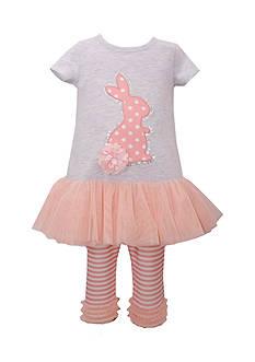 Bonnie Jean 2-Piece Bunny Tutu and Leggings Set