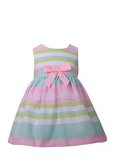 Bonnie Jean Stripped Ribbon Dress