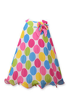 Bonnie Jean Polka Dot Party Dress Girls Toddler Girls