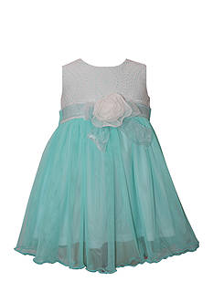 Bonnie Jean Eyelet Ballerina Dress Toddler Girls