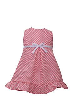 Bonnie Jean 2-Piece Jacquard Dress and Coat Set