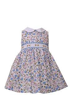Bonnie Jean Floral Smocked Dress