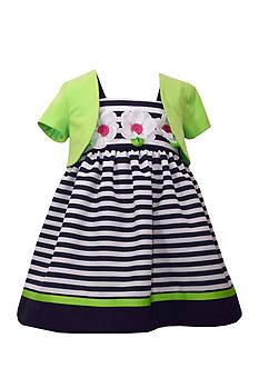 Bonnie Jean 2-Piece Dress and Cardigan Set
