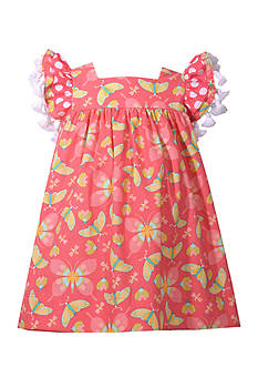 Bonnie Jean Butterfly Print Float Dress Toddler Girls
