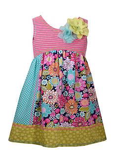 Bonnie Jean Printed Cotton Dress