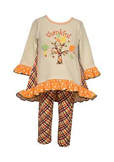 Bonnie Jean Thankful Tunic & Legging Set Infant/Baby Girls