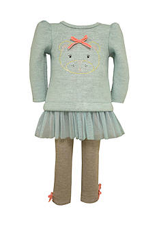 Bonnie Jean Infant Bear Dress Set