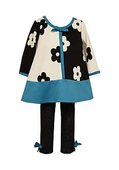 Bonnie Jean 2-Piece Floral Tunic and Leggings Set