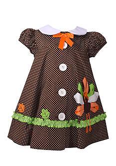 Bonnie Jean Turkey Button Down Dress Infant/Baby Girls