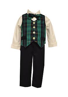 Bonnie Jean 4-Piece Woven Vest Set