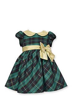 Bonnie Jean Plaid Short Sleeve Dress
