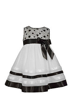 Bonnie Jean Organza Skirt Dress Infant/Baby Girls