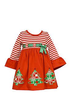 Bonnie Jean Tree Ribbon Dress Toddler Girls