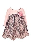 Bonnie Jean Floral Lace Dress Infant/Baby Girls