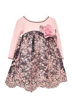 Bonnie Jean Floral Lace Dress Infant/Baby Girls