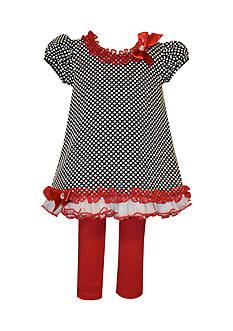 Bonnie Jean Dressy Tunic And Legging Set