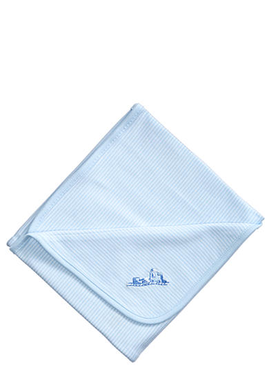 Little Me Thank Heaven For Little Boys Reversible Receiving Blanket