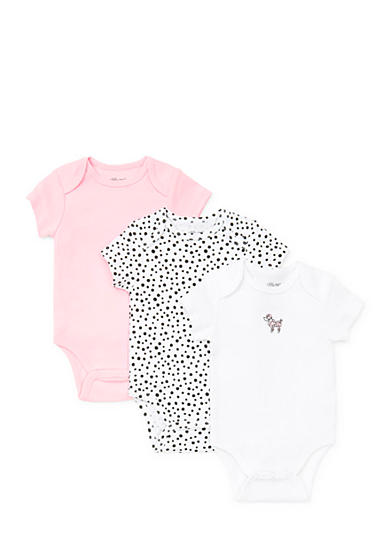 Little Me 3-Pack Perfect Poodle Bodysuits
