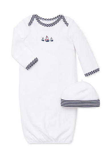 Little Me Sailboat Gown & Hat
