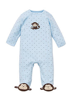 Little Me Monkey Star Footie