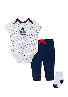 Little Me Nautical Bodysuit Pant Set