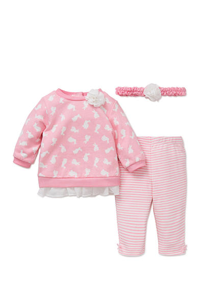 Piece Bunny Sweatshirt, Headband, Legging Set