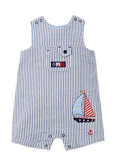 Little Me Sailboat Sunsuit