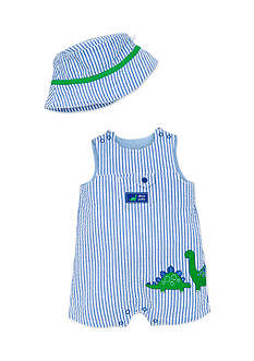Little Me 2-Piece Dinosaur Hat & Romper Set