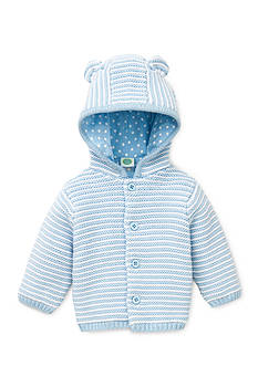 Little Me Hooded Cardigan Sweater