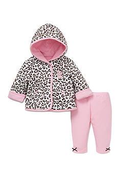 Little Me 2-Piece Reversible Leopard Print Jacket Set